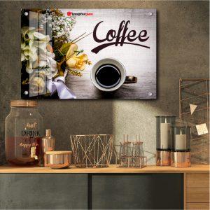 Tranh kính quán Cafe